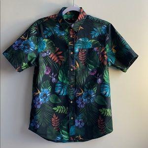 Tropical Zoo York Shirt Small
